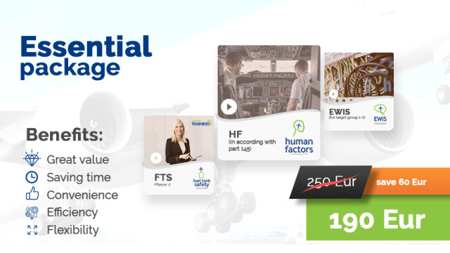 Essential package: (HF145 + FTS2 + EWIS1-2)